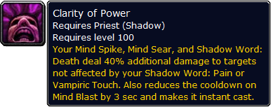 Clarity of Power tooltip