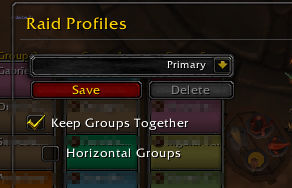raid groups together cfg