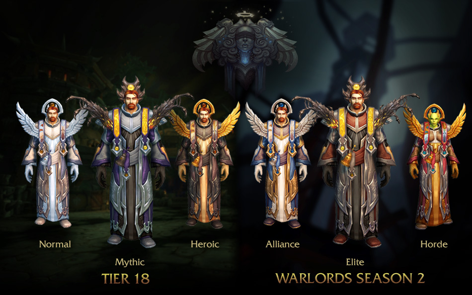 t18 preview priest item set transmog