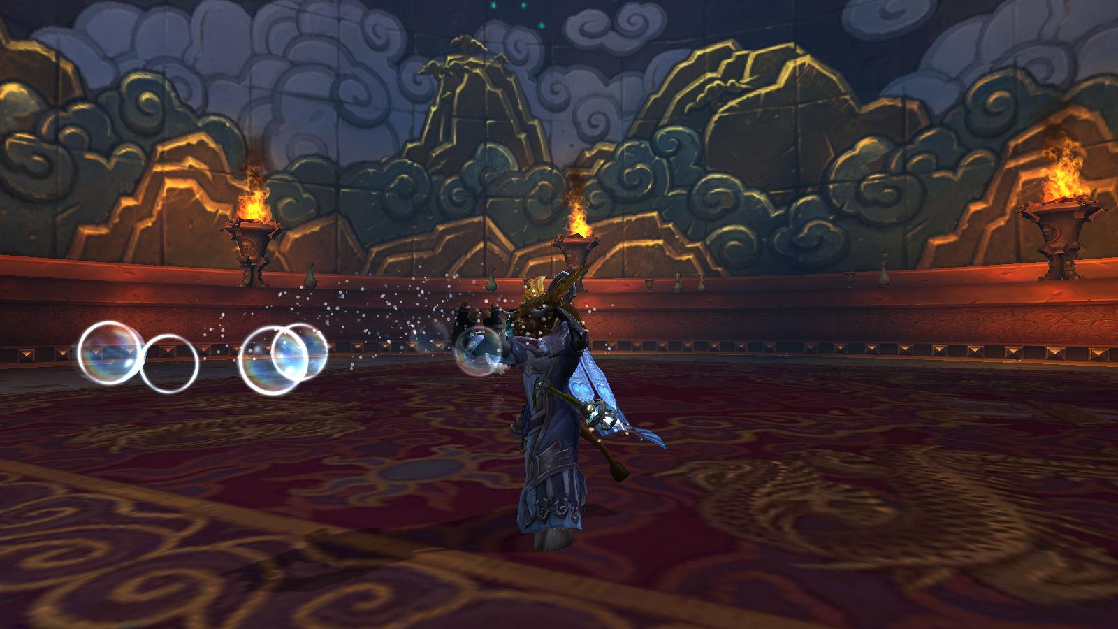 mogushan vaults raid priest bubbles screenshot