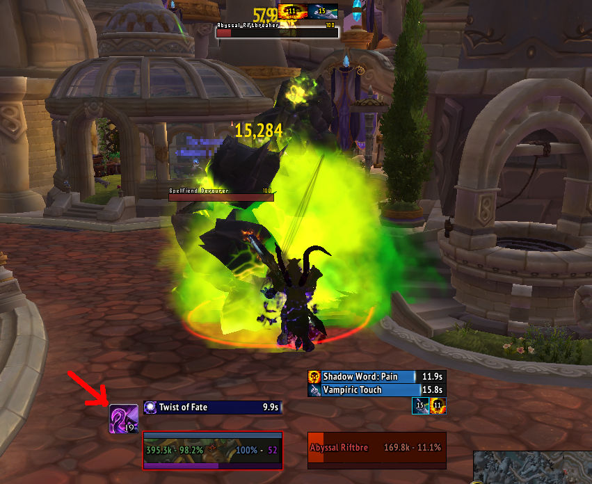 shadow priest void form weakauras screenshot